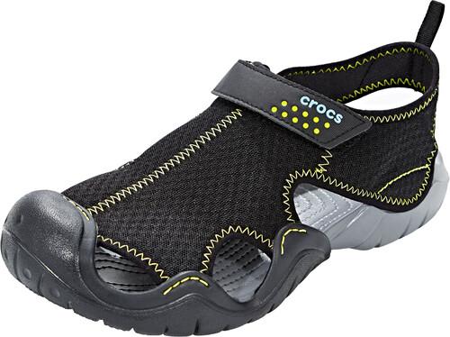 Sandales Rapides Crocs D'eau Hommes Sandales Gris / Noir Occasionnels 43-44 2018 HSVxSWo